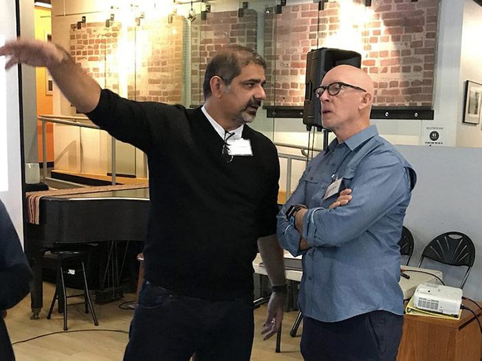 Karim Lakhani and John Winsor
